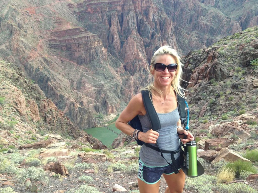 Sara Schulting Kranz at the Grand Canyon