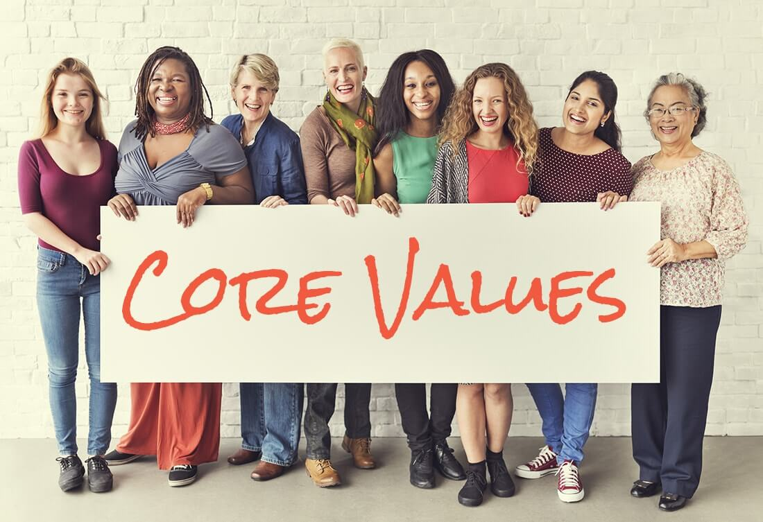Live Boldly coaching Core Values Workshop