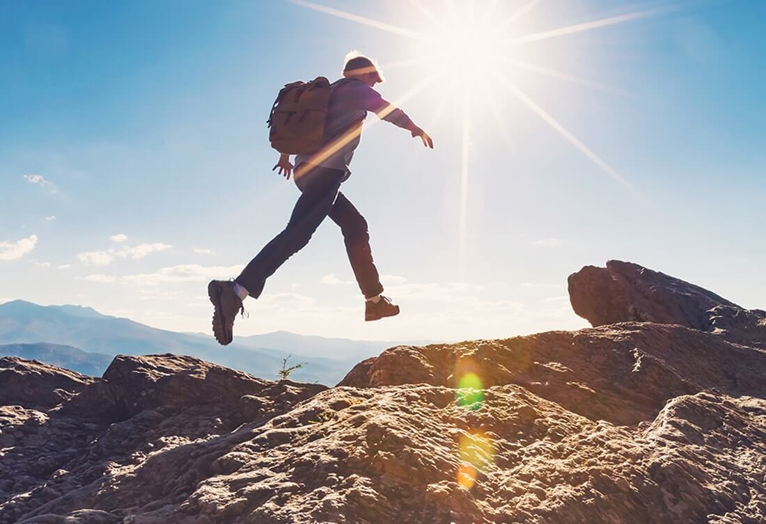 Live Boldly Coaching - man on a hike