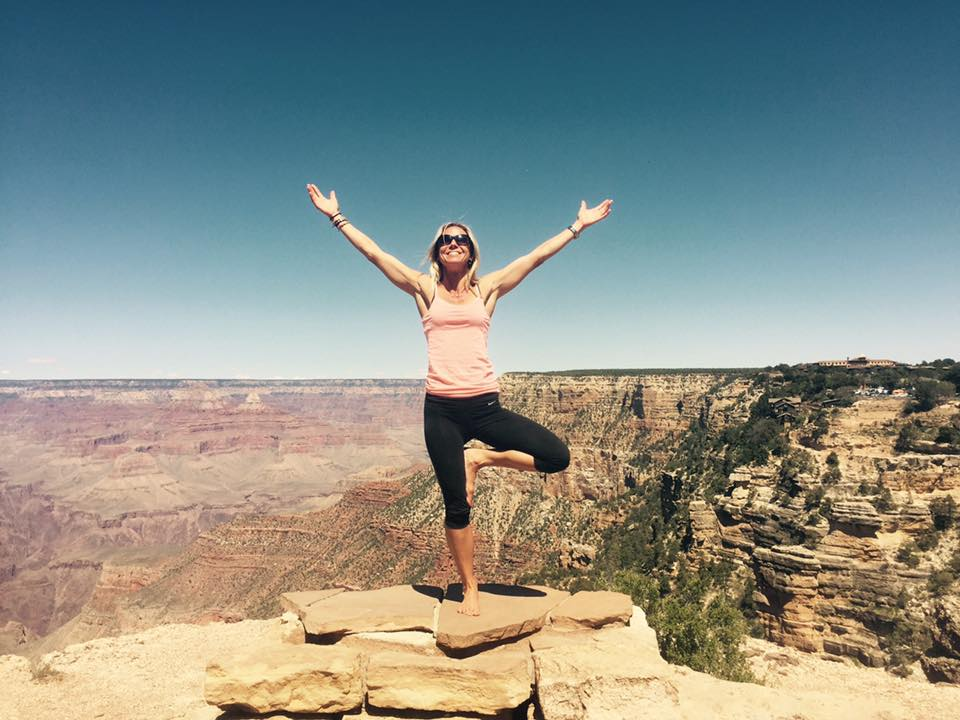 Sara Schulting Kranz at Grand Canyon