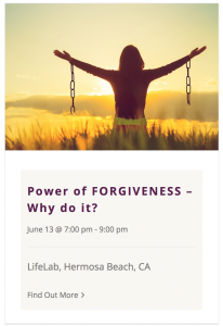 Power of Forgiveness Workshop by Live Boldly Coaching