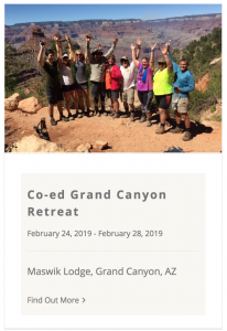 Live Boldly Grand Canyon Coaching February 2019