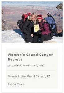 Live Boldly Grand Canyon Coaching January 2019