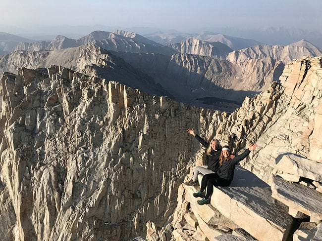 near Mt. Whitney with Live Boldly Coaching