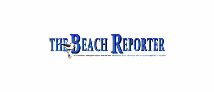 beach reporter logo