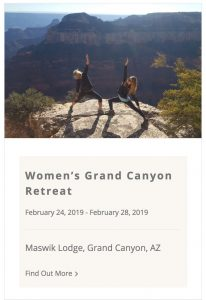 Live Boldly Coaching Feb. 2018 Grand Canyon Retreat