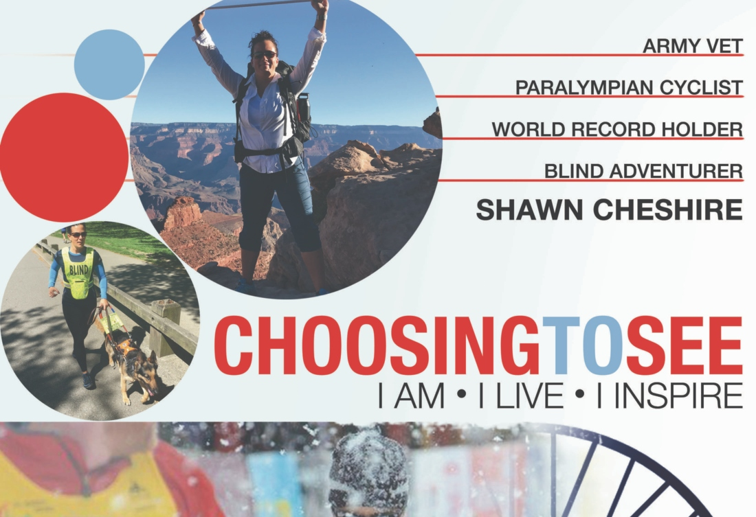 Shawn Cheshire 1/10/19 event with Sara Schulting Kranz