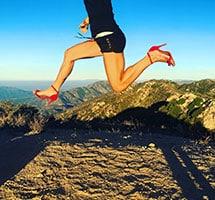 Sara Schulting-Kranz Red heels
