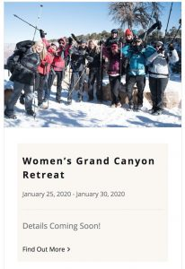 Live Boldly Coaching Grand Canyon Retreat January 2020