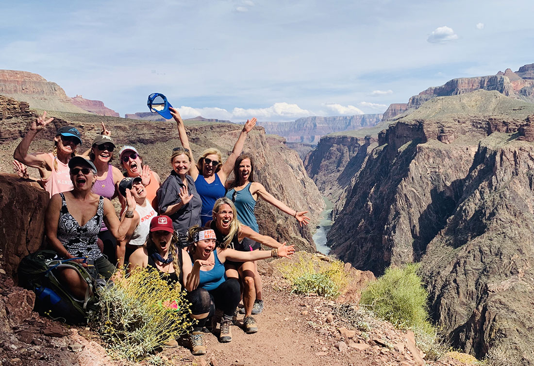 Live Boldly coaching in the Grand Canyon