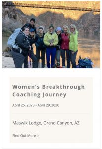 Women's Breakthrough Coaching Journey April 2020 with Sara Schulting Kranz