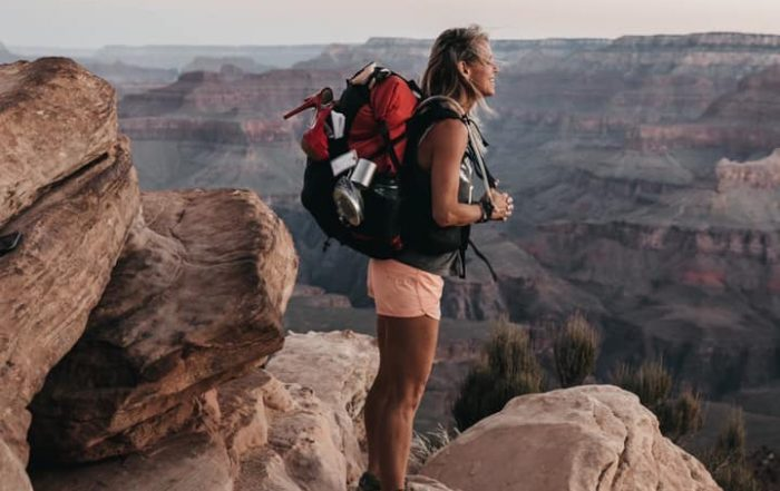 Sara Schulting Kranz at the Grand Canyon