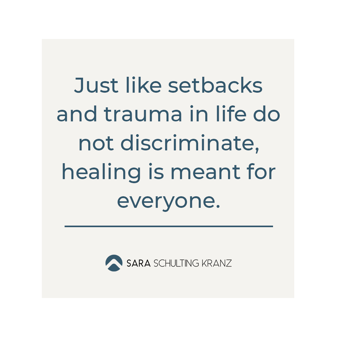 Inspiration about trauma and healing by Sara Schulting Kranz