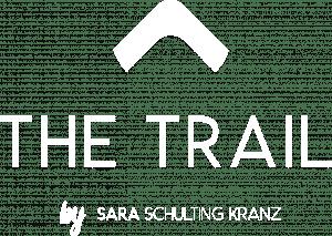 The Trail logo white